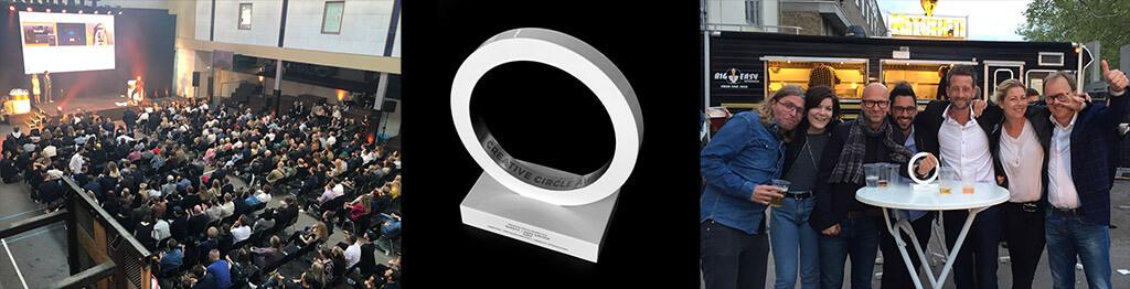Ambition vinder Creative Circle Award